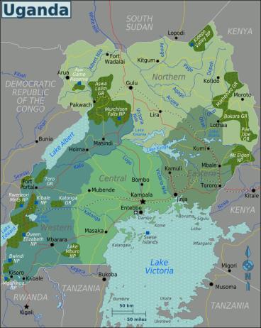 Uganda_Regions_map